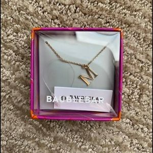 "*NWT - BRAND NEW* Baublebar ""M"" Initial Necklace"